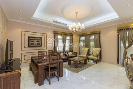 فیلا 5 غرف نوم للايجار في ذا فيلا، دبي - On Park | Private Pool | Well maintained|