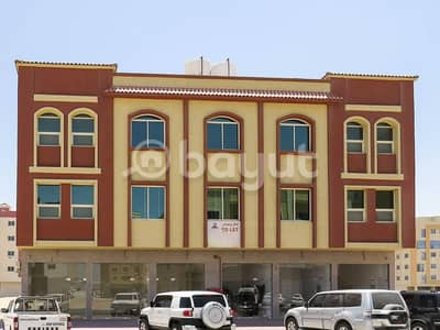 21 Bedroom Apartment for Rent in Al Jurf, Ajman - New building, first inhabitant behind the China mall, residential, comm