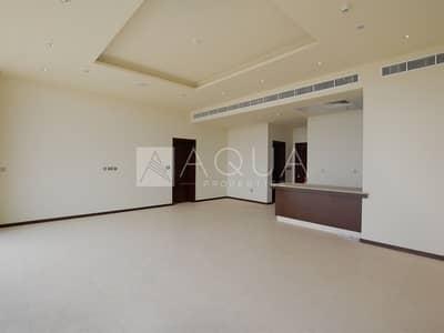 فلیٹ 1 غرفة نوم للايجار في نخلة جميرا، دبي - Full Sea View | High Floor | Vacant Unit