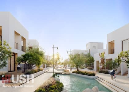 3 Bedroom Townhouse for Sale in Arabian Ranches 3, Dubai - Contemporary Design / Payment Plan / Canal lake behind your house!