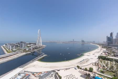 3 Bedroom Apartment for Rent in Jumeirah Beach Residence (JBR), Dubai - Brand New   Full Sea View   Amazing Views