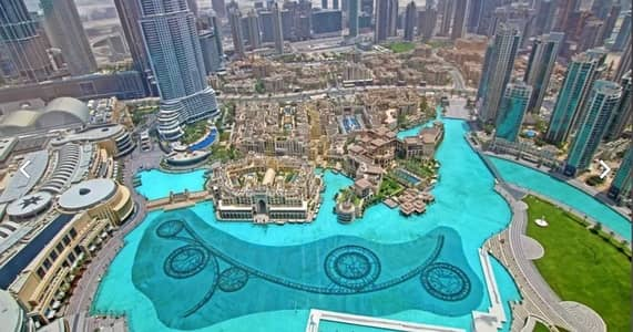 2 Bedroom Apartment for Rent in Downtown Dubai, Dubai - Full Fountain View   On Higher Floor   Furnished 2BR+M