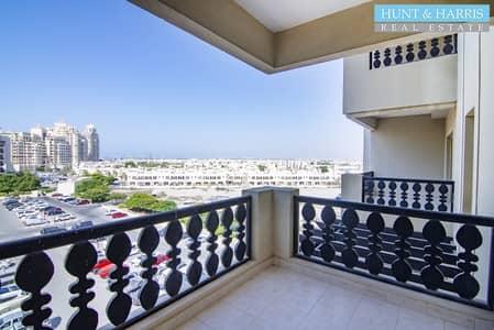 فلیٹ 1 غرفة نوم للايجار في قرية الحمراء، رأس الخيمة - High Floor - Closed Kitchen - Great Family Community