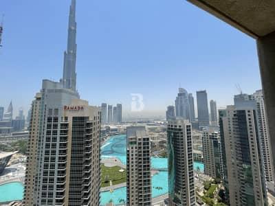 فلیٹ 1 غرفة نوم للايجار في وسط مدينة دبي، دبي - High Floor  Luxurious  Burj & Fountain View