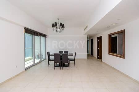 شقة 2 غرفة نوم للايجار في الخليج التجاري، دبي - Higher Floor | Spacious 2 Bed | Sea View | Executive Tower L