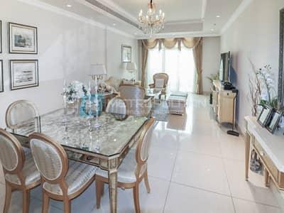 فلیٹ 2 غرفة نوم للبيع في نخلة جميرا، دبي - Fully Furnished I Amazing Sea View I Private Pool
