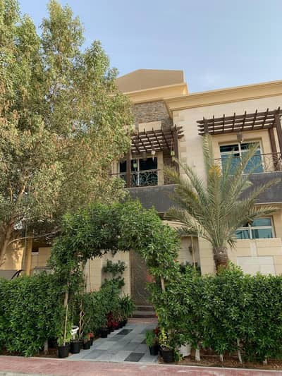 5 Bedroom Villa for Sale in Al Jurf, Ajman - Detached luxury villa | covered swimming pool | The goal is at the highest quality| all files Italian and German
