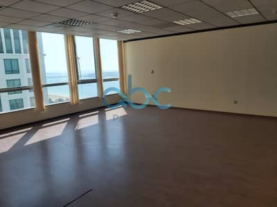 Office for Rent in Corniche Road, Abu Dhabi - Vacant I Prime Location I Fully Fitted