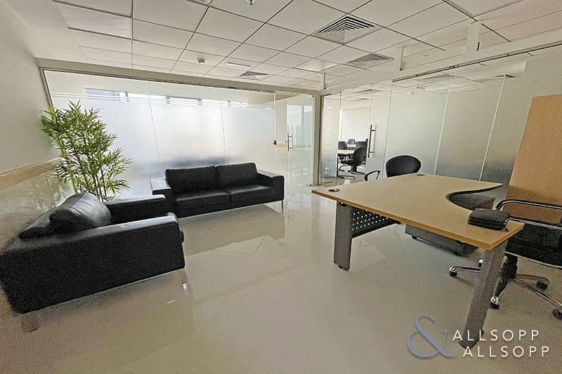 2 Furnished Office | Partitioned | Close To Metro