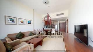 Elegant 1BHK   Al Barsha I Furnished   Open Kitchen   Excellent Location