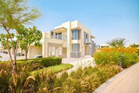 4 Bedroom Villa for Sale in Dubai Hills Estate, Dubai - Single Row   Ready to Move End Unit   Next to Park