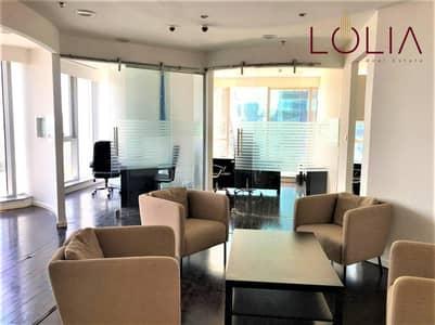 مکتب  للايجار في الخليج التجاري، دبي - Fitted Office | Canal View | Ready to Move