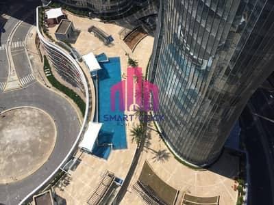 شقة 1 غرفة نوم للبيع في جزيرة الريم، أبوظبي - luxurious apartment with a beautiful view and a Big area