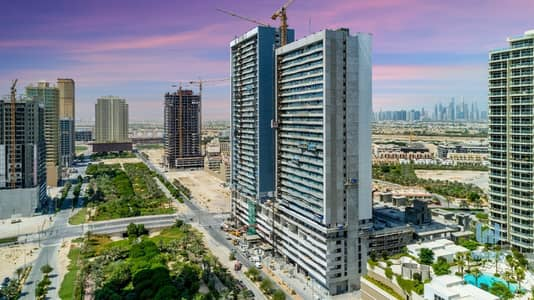 1 Bedroom Apartment for Sale in Jumeirah Village Circle (JVC), Dubai - move in NOW in Jumeira village circle bloom towers one bedroom two bedroom just pay 25% and take the key . 5 years post.