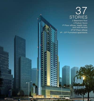 شقة 1 غرفة نوم للبيع في قرية جميرا الدائرية، دبي - ready to move studio - 1 bedroom furnished in Jumeirah village Centre.
