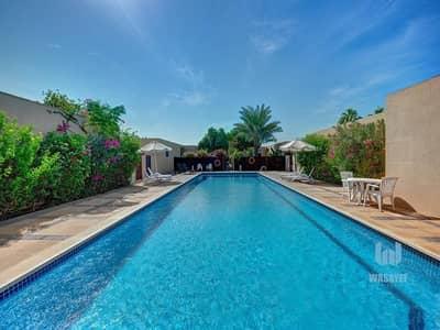 فیلا 3 غرف نوم للايجار في الصفا، دبي - Lovely 3 Bedroom Villa With Garden| Shared Pool & Garden!
