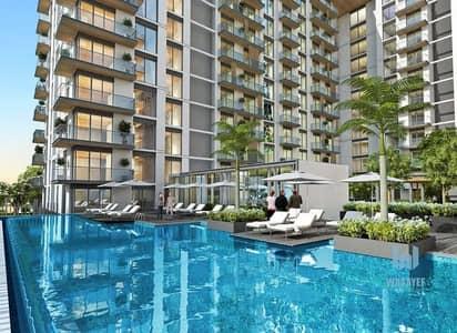 1 Bedroom Flat for Sale in Mohammed Bin Rashid City, Dubai - 10% down payment 2BR ! Burj kalifa view!  Installment plan!!