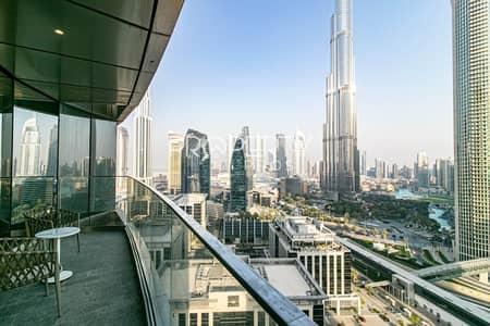 شقة 3 غرف نوم للايجار في وسط مدينة دبي، دبي - Genuine Listing | 06 Series| Highest Floor