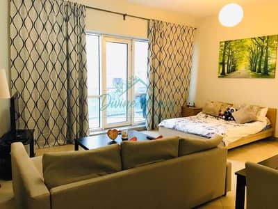 Studio for Rent in Barsha Heights (Tecom), Dubai - available from 1st June | Furnished Large Studio | Chiller Free | 2 min from Metro station