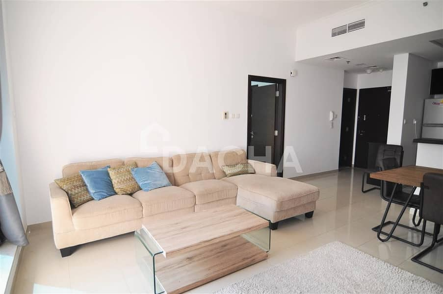 2 Furnished 1 bed / High floor / Sea view