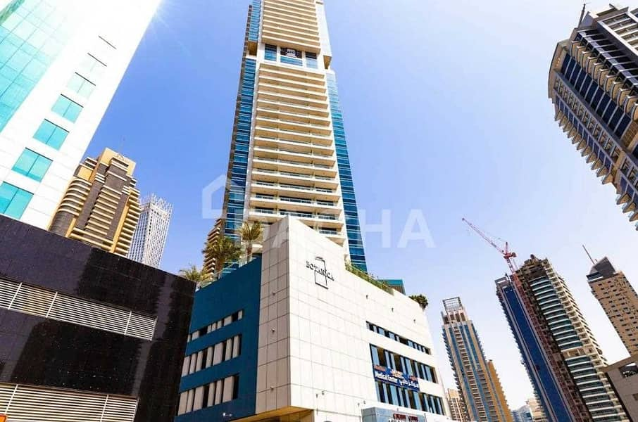9 Furnished 1 bed / High floor / Sea view