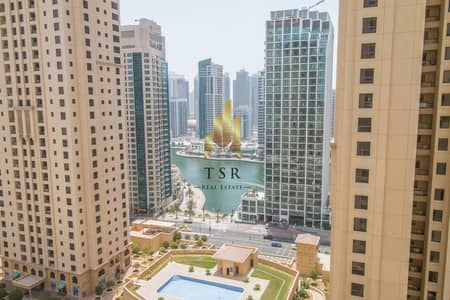 شقة 1 غرفة نوم للايجار في جميرا بيتش ريزيدنس، دبي - Spacious   Well Maintained   1BR   Marina