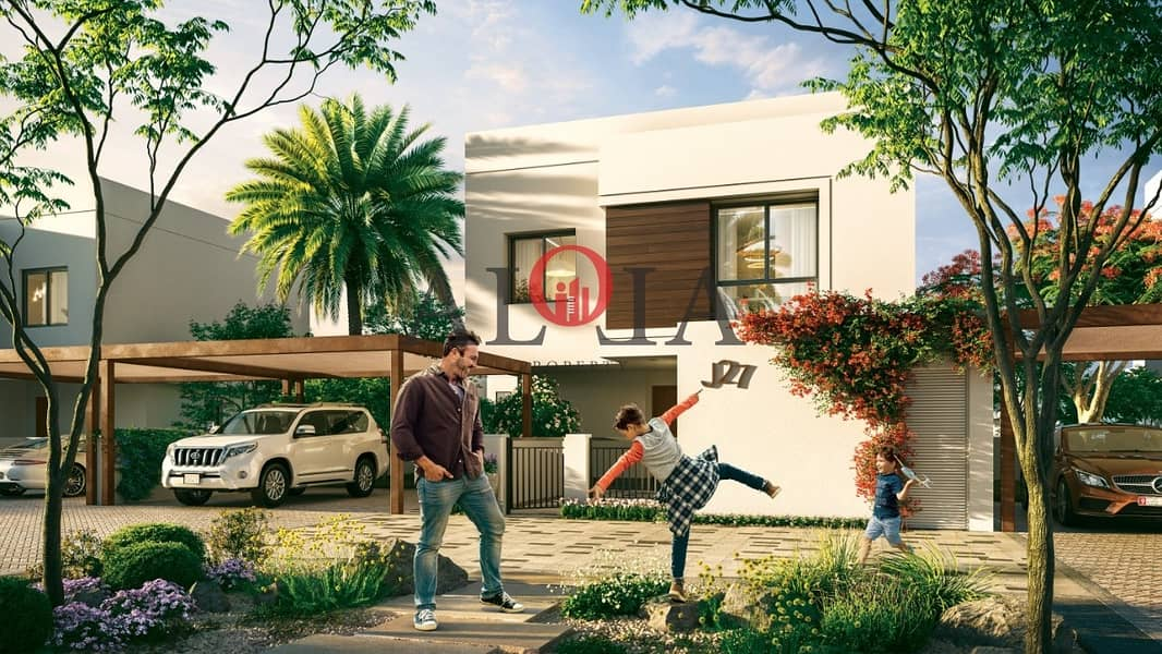 Stand alone villas in yas island   ADM fees waived