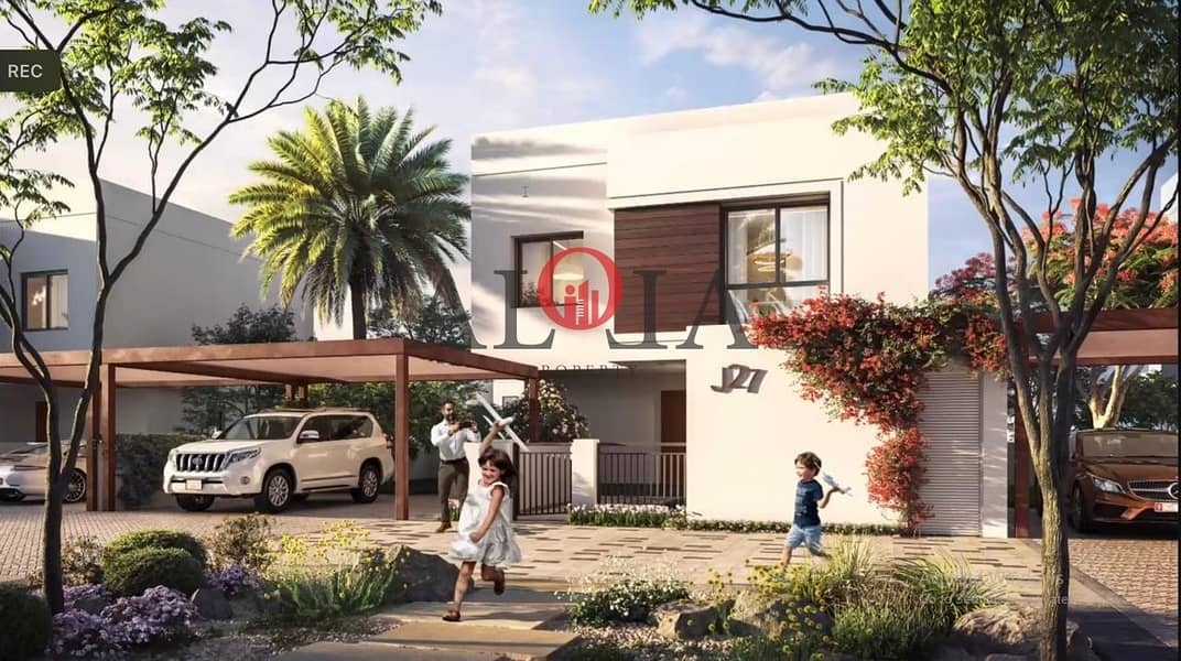 2 Stand alone villas in yas island   ADM fees waived