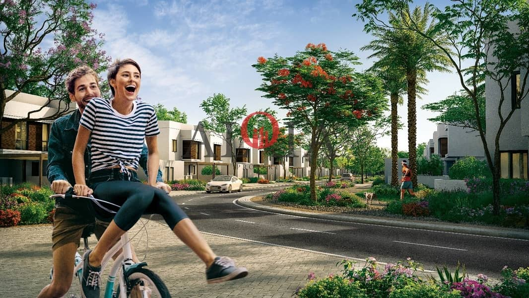 8 Stand alone villas in yas island   ADM fees waived