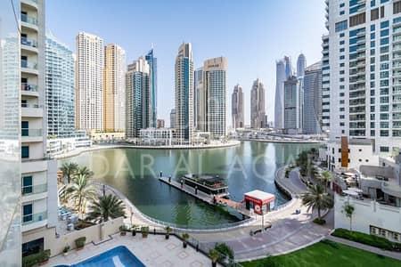 1 Bedroom Apartment for Rent in Dubai Marina, Dubai - COZY 1 BEDROOM | MARINA VIEW | CLOSE TO METRO