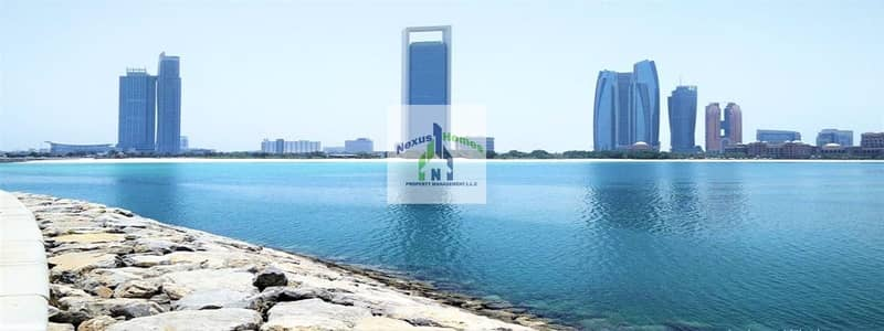 3 Bedroom Flat for Rent in Al Mina, Abu Dhabi - 3 Bedroom Apartment For Rent in Silver Wave Tower Mina Road