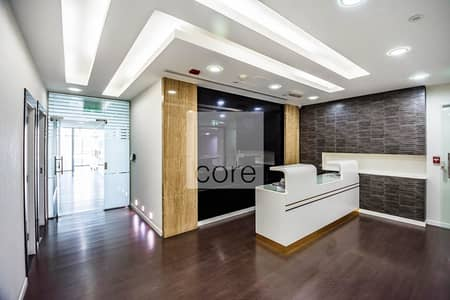 Office for Rent in Discovery Gardens, Dubai - Fully Fitted with Glass Partitions   12 Cheques