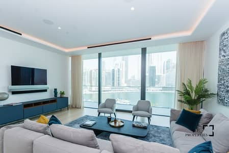 4 Bedroom Apartment for Sale in Business Bay, Dubai - Stunning Duplex | Canal View | Modern Design