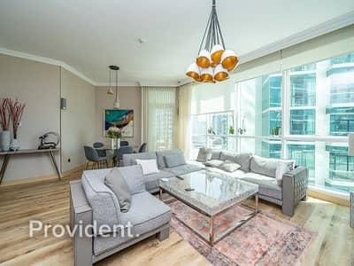شقة 3 غرف نوم للبيع في جميرا بيتش ريزيدنس، دبي - Private Beach Lifestyle | Sea View | Upgraded