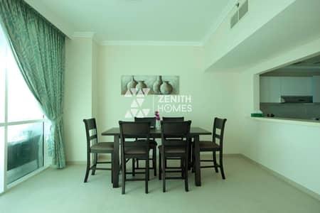 فلیٹ 2 غرفة نوم للبيع في جميرا بيتش ريزيدنس، دبي - High Floor | Sea View | Beach Access