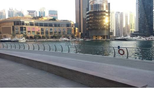 Shop for Sale in Dubai Marina, Dubai - Motivated Seller Offers Attractive Retail Shop With Sea View   Spacious space    Prime Location