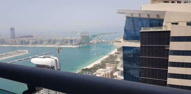 1 Bedroom Flat for Rent in Dubai Marina, Dubai - Above 50th Floor | Sea View | Equipped Kitchen