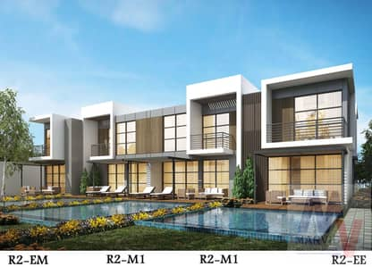 3 Bedroom Townhouse for Sale in Akoya Oxygen, Dubai - Ready Villa For Move In| 0% 10 years Mortgage with 0% interest