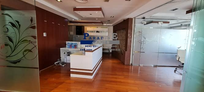 Office for Sale in Jumeirah Lake Towers (JLT), Dubai - Furnished Office I Panoramic View I Higher Floor