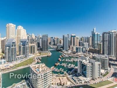 فلیٹ 1 غرفة نوم للبيع في دبي مارينا، دبي - Full Marina View | New Building | Large Layout