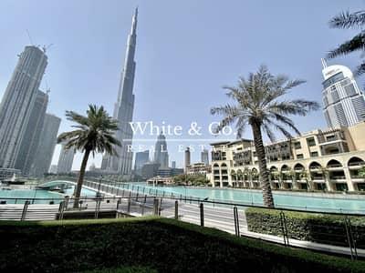 فیلا 1 غرفة نوم للايجار في وسط مدينة دبي، دبي - Fountain View   Rare 1BR Spacious Podium Villa
