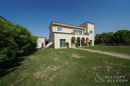 فیلا 5 غرف نوم للايجار في جرين كوميونيتي، دبي - Unfurnished | GC Family Villa | Huge Plot