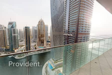 3 Bedroom Apartment for Sale in Dubai Marina, Dubai - Luxurious 3BR Corner Unit+ Maids|Mid Floor|Vacant