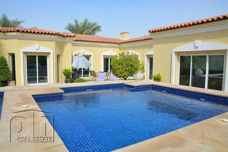 4 Bedroom Villa for Sale in Green Community, Dubai - Beautifully Presented Bungalow With Private Pool