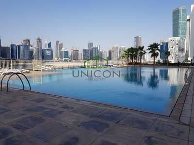 شقة 1 غرفة نوم للايجار في الخليج التجاري، دبي - Elegant  Large 1 Bed Full Hours course view