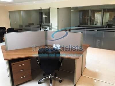 Furnished  office with partitions at HDS