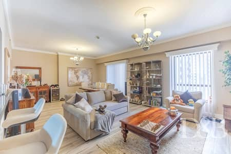 1 Bedroom Flat for Rent in Jumeirah Beach Residence (JBR), Dubai - Upgraded | Partial Marina View | Modern