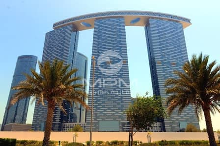 1 Bedroom Flat for Rent in Al Reem Island, Abu Dhabi - Spacious & Bright with shared Gym and Pool   Parking