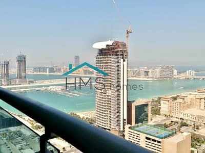 1 Bedroom Apartment for Rent in Dubai Marina, Dubai - 1BR Princes Tower Higher Floor Available Mid June
