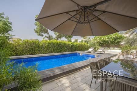 5 Bedroom Villa for Sale in The Meadows, Dubai - Rare Hattan E1 with Pool and Lake View